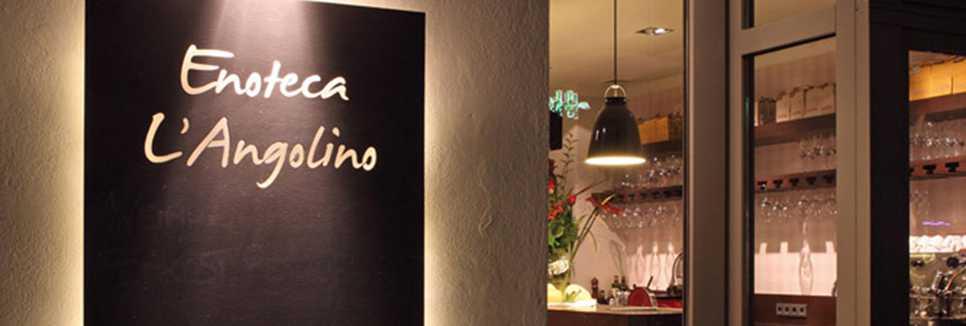 enoteca l angolino italienisches restaurant knesebeckstr. Black Bedroom Furniture Sets. Home Design Ideas