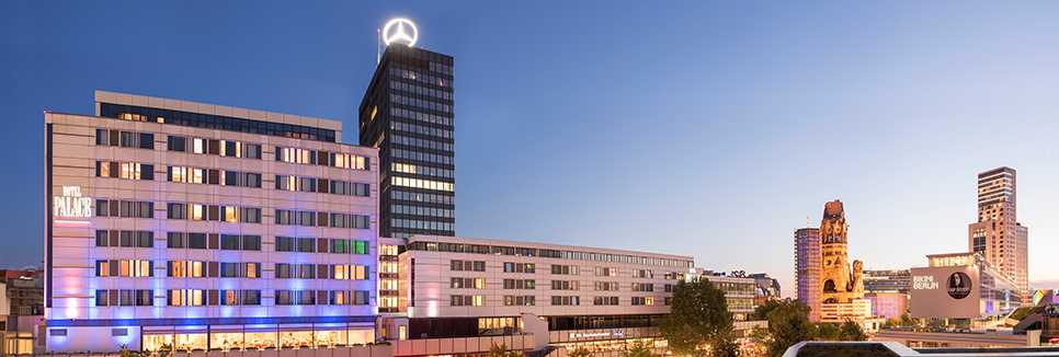 Hotel Palace Berlin - Lobby Lounge Restaurant Charlottenburg Michelin Sterne | joycard